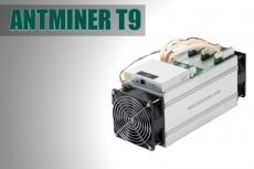 Antminer T9 (10,5 Th/s) su maitinimo bloku
